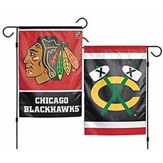 WinCraft, Inc. Chicago Blackhawks 2 Sided Garden Flag