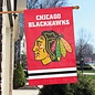 Chicago Blackhawks Applique Banner Flag