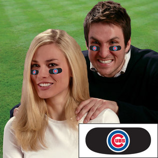 Chicago Cubs Eye Black Strips