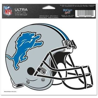 WinCraft, Inc. Detroit Lions Multi-use Colored Decal 5x6