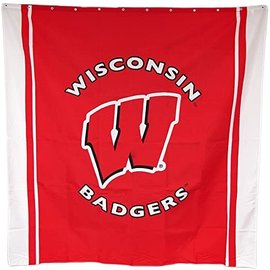 Game Day Outfitters Wisconsin Badgers Shower Curtain