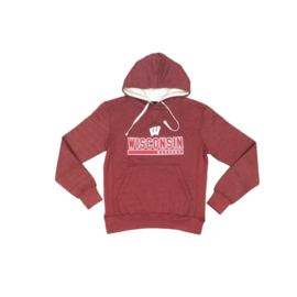 Signature Concepts Wisconsin Badgers Men's Afton Pullover Hoodie