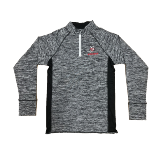 Signature Concepts Wisconsin Badgers Men's 4 Runner 1/4 Zip