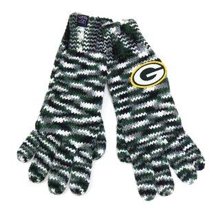 G III Green Bay Packers Green, Black, & Gray Varigated Gloves