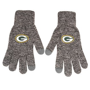 Forever Collectibles Green Bay Packers Gray Knit Gloves