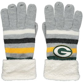 G III Green Bay Packers Women's Knit Gloves