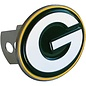 Green Bay Packers Metal Hitch Cover