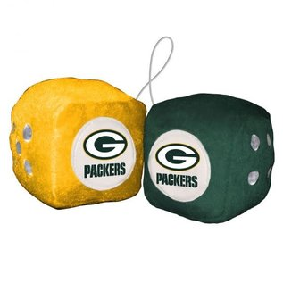 Fremont Die Green Bay Packers Fuzzy Dice