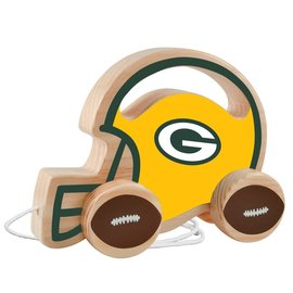 Green Bay Packer Wood Push & Pull Toy