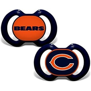 Baby Fanatics Chicago Bears 2 Pack Pacifiers