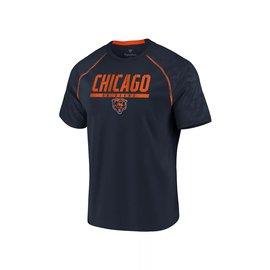 Fanatics Chicago Bears Men's Defender Mission Short Sleeve Tee