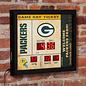 Evergreen Enterprises Green Bay Packers Bluetooth Scoreboard Clock