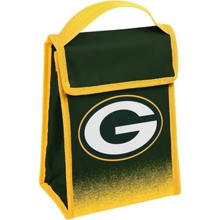 Forever Collectibles Green Bay Packers Gradient Velcro Lunch Bag