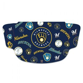 WinCraft, Inc. Milwaukee Brewers Cooperstown Fan Mask Face Cover