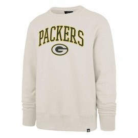 '47 Brand Green Bay Packers Men's Dune Arch Gamebreak Crew Sweatshirt