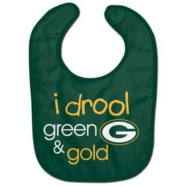 WinCraft, Inc. Green Bay Packers I Drool Baby Bib