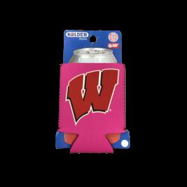 Kolder Wisconsin Badgers Pink Kan Kaddy