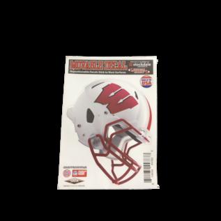 Wisconsin Badgers Helmet Decal