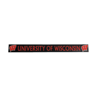 Wisconsin Badgers 2x17 Vinyl Decal