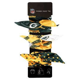Little Earth Green Bay Packers Wired Hair Tie