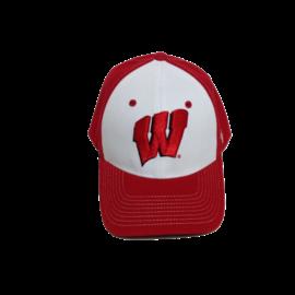 Zephyr Wisconsin Badgers Men's Bleacher Zwool Fitted Hat