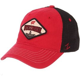Zephyr Wisconsin Badgers Roadside Adjustable Hat