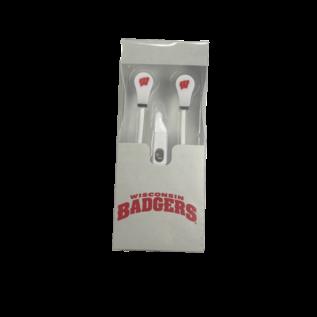 Wisconsin Badgers Earbuds