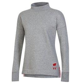 Under Armour Wisconsin Badgers Women's Campus Fleece Crew Sweatshirt