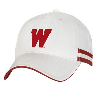 Wisconsin Badgers Iconic Adjustable Hat