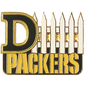 Aminco Green Bay Packers D-Fence Pin