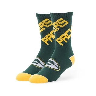 '47 Brand Green Bay Packers Helix Tall Sock Size Large