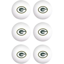 Franklin Sports Green Bay Packers Ping Pong Balls
