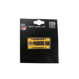 Gift Pro Green Bay Packers Fan License Plate Pin