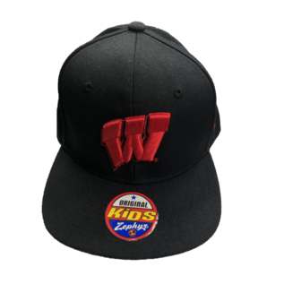Zephyr Wisconsin Badgers Z11 Twilight Youth Hat
