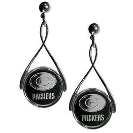 Siskiyou Sports Green Bay Packers Teardrop Post Earrings