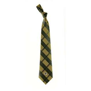Eagles Wings Green Bay Packers Skinny Plaid Tie