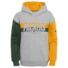 Outerstuff Green Bay Packers Youth Heritage Pullover Hoodie