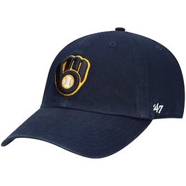 '47 Brand Milwaukee Brewers Infant Clean Up Hat