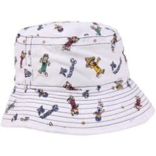 New Era Milwaukee Brewers Youth Bucket Hat with Racing Sausages