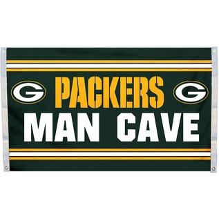 Fremont Die Green Bay Packers 3x5 Flag - Man Cave