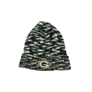 G III Green Bay Packers Women's Green, Black, Gray Variagated Knit Cuffed Hat