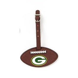 Aminco Green Bay Packers Football Luggage Bag Tag