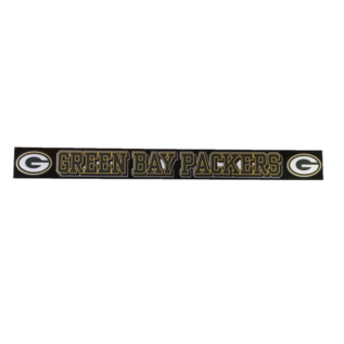 """Green Bay Packers 2x19"""" Decal - GB Packers with 2 Gs"""