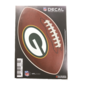 Green Bay Packers Football Decal