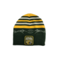 Outerstuff Green Bay Packers youth stripe top/patch bottom knit beanie
