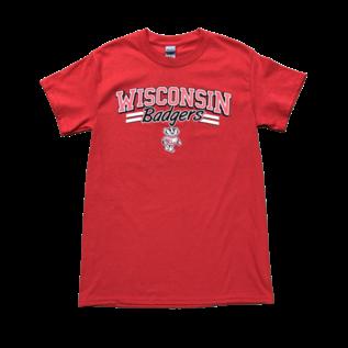 Signature Concepts Wisconsin Badgers Men's Elway Short Sleeve Tee