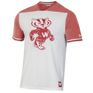Wisconsin Badgers Men's Iconic Short Sleeve Tee