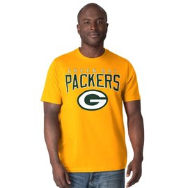 Green Bay Packers Men's Special Yellow Short Sleeve Tee
