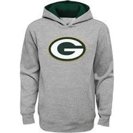 Outerstuff Green Bay Packers Infant Gray Prime Pullover Hoodie