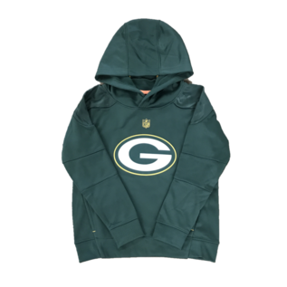 Outerstuff Green Bay Packers Youth Mach Pullover Hoodie
